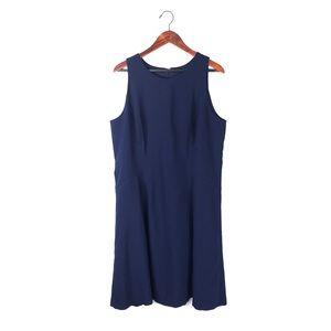 White House black market dress shift sleeveless